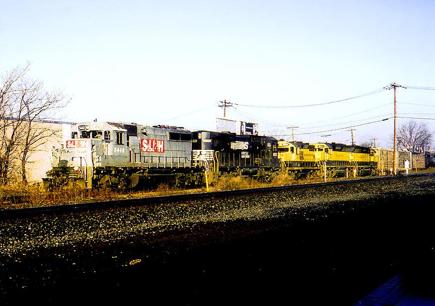 SL&H 5448 on SU-100