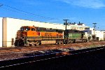BNSF 1004 and BN 6703