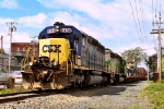 CSX 8466 on Q-163