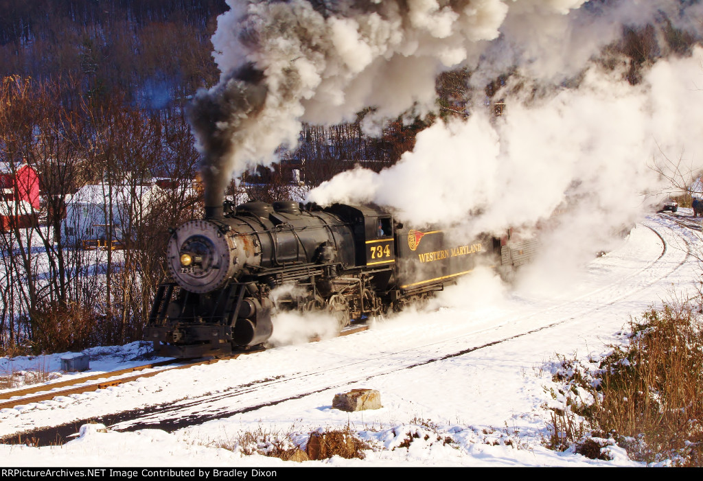 Western Maryland Scenic RR 734