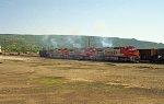 ATSF 870 Raton Yard