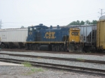 CSX 1176 at Baldwin Yard as seen from behind the McDonald's on US Hwy 301