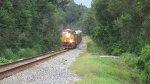 CSXT 883 Leads K731 Southbound