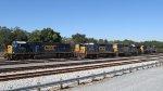 Six Different Locomotives