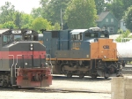 CSXT 4837 at Rigby Yard