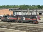 BM 333 and MEC 511 at Rigby Yard