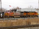 BNSF 618 and 6679