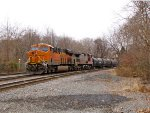BNSF 6679 and 618
