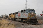 KCS 3944 Leads a Nb Up freight train up the Alton and southern.