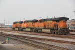 BNSF 6861 Sits in the steel mill yard.