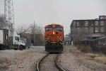 BNSF 6294 Dpu on the TRRA North Belt.