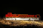 BNSF 8579 Glowing the the middle of Darkness.