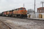 BNSF 5205 Leads the TULGAL into Old Monroe Mo.