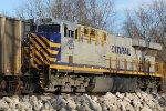 CREX 1203 Dpu on a empty Ucex coal train.