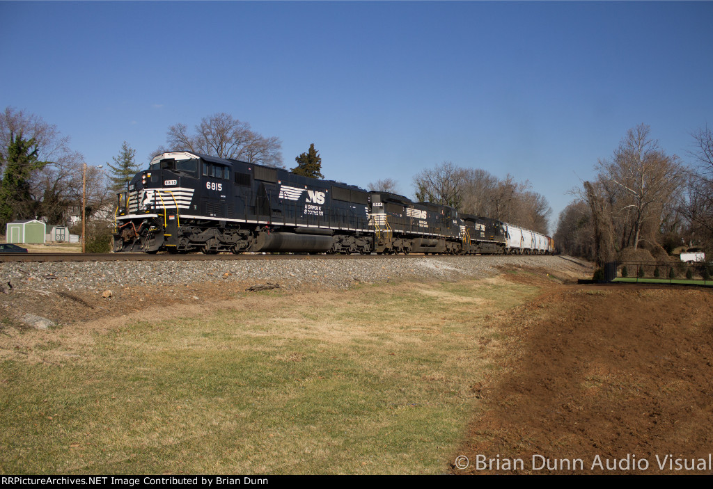 "NS 35Q with the NS 6815 ""Triclops"" leading"