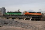 BNSF 1652 & BNSF 1567 Working The Yard