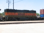 BNSF 332 on EB Stack at La Crosse