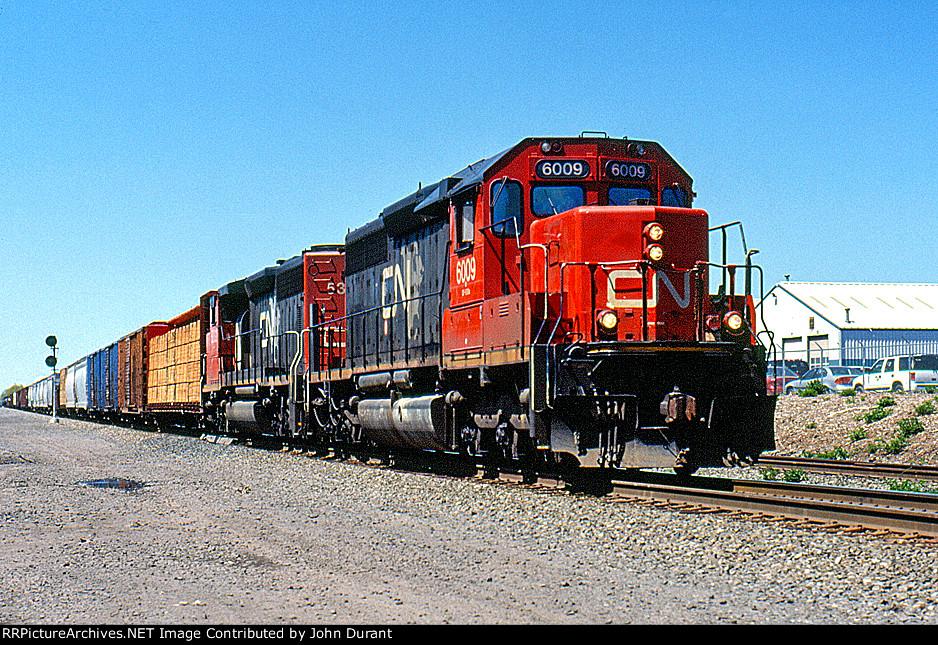 CN 6009 on 16T