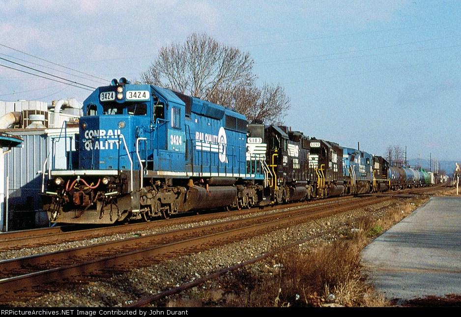 NS 3424 on 19G