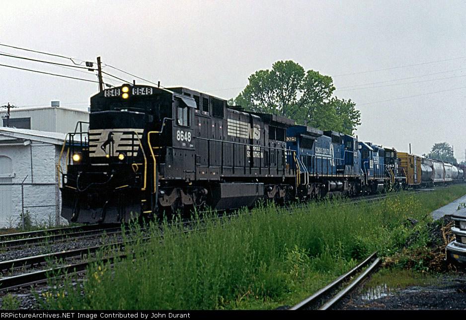 NS 8648 on 19G