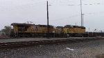 UP 1564 idles next to QEWWC-06 DPU's