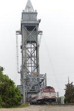 Crossing the Cape Cod Canal Bridge