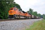 BNSF 8758 on NS 735