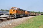 BNSF 6273 on NS 734