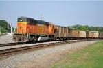 BNSF 8985 DPU on NS 735
