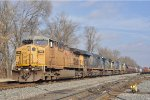 UP 7008 On CSX Q 501 Southbound