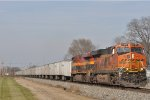 BNSF 7187 On NS 251 Eastbound