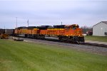 BNSF 9371 and 9858