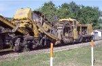 LORAM ballast cleaner
