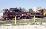 LORAM ballast cleaner backing to A yard