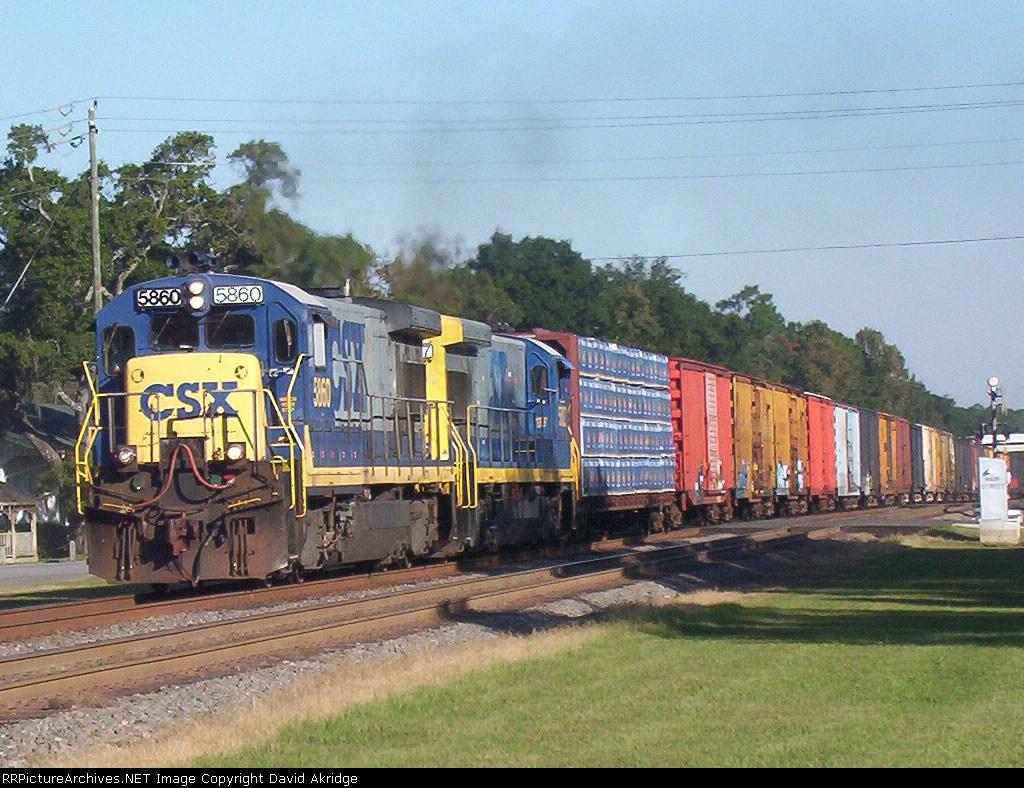 CSX 5860