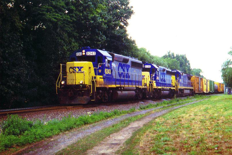 CSX 6243 on SECS