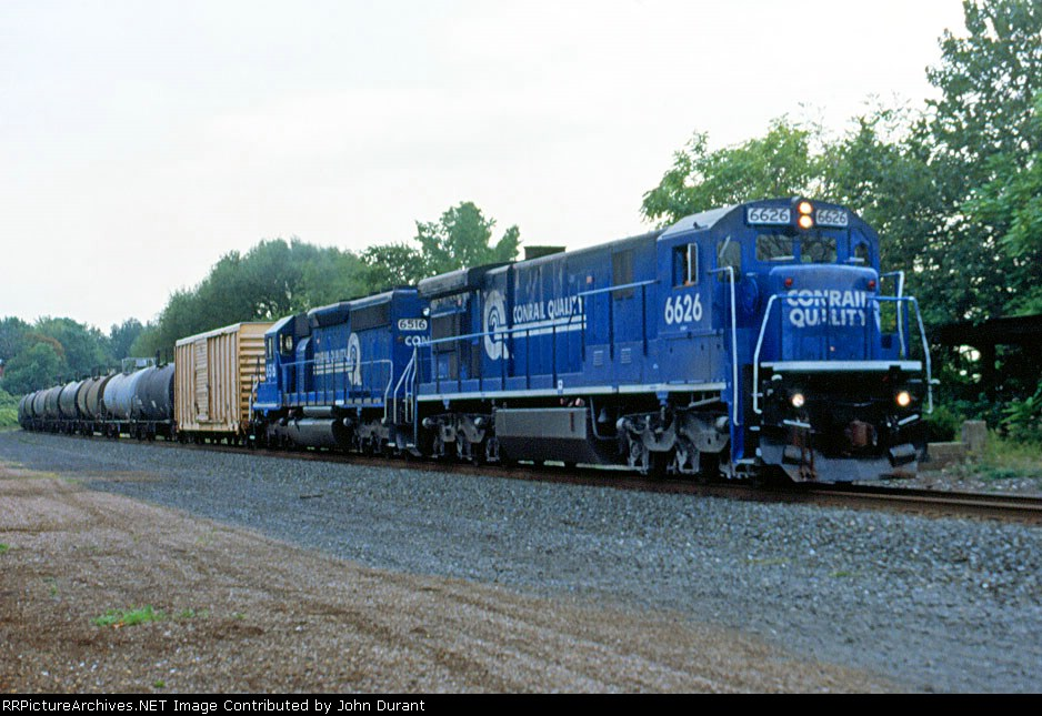 CR 6626 on the acid train