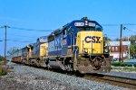 CSX 6205 on SECS