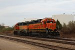 BNSF 2343 and BNSF 2850
