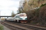 AMTK 90253 at the tail of Amtrak Cascades