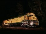 RCT&HS Reading diesels pose for a night shot