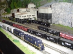 C&O Freight Passing the Coal Mine