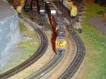 Piggyback Train clears the Yard