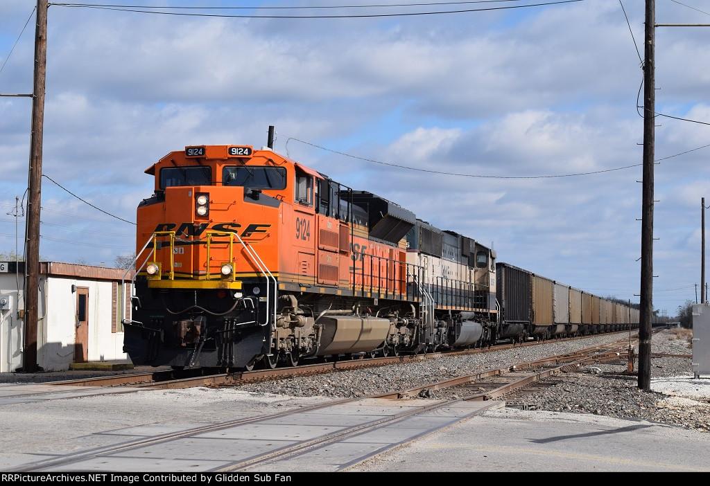BNSF 9124