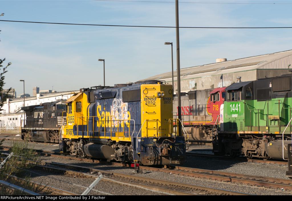 BNSF 2855