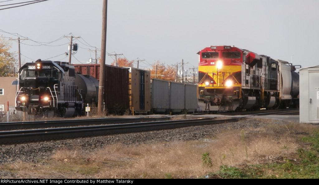 KCS 4169 vs PRLX 3806