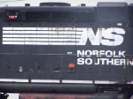 "NS 5007 (Close up), ""SOUTHERN"" showing thru"
