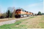 BNSF 6123+train