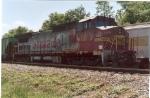 """BNSF 915 (in Santa Fe """"warbonnet"""")"""