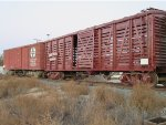 Santa Fe wooden freight cars